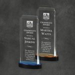 Spectra Tower Colored Acrylic Awards