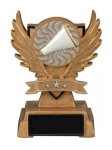 Victory Wing Resin Figure -Cheer Multi-Activity Mylar Resin Trophy Awards